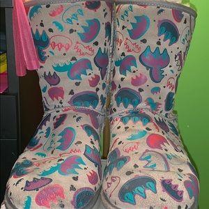 !FINAL price drop! Ugg graffiti claw print boots
